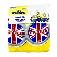 Official Minions Towel Poncho