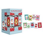 Christmas 9 Pack Mini Crackers Santa & Reindeer