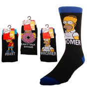 Mens Simpsons Socks