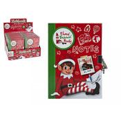 Christmas Elf Mini Lock Up Note Book