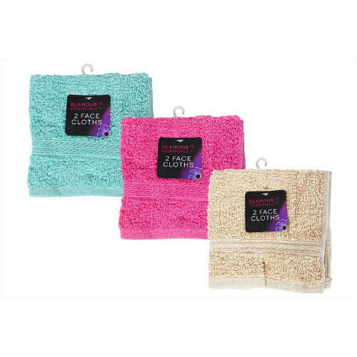 Face Cloths Pack Of 2