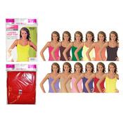 Ladies Daisy Vest Top Pastel Colours