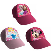 Girls Assorted Character Baseball Caps