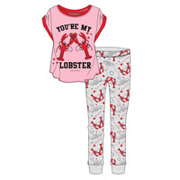 Ladies Official Friends Lobster Pyjamas