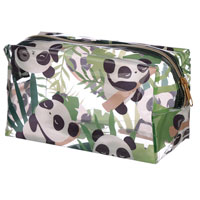 Pandarama Clear Panda Toiletry Bag