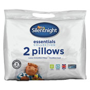Silentnight Essentials Collection Pillows 2 Pack