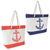 Paperstraw Anchor Print Bag
