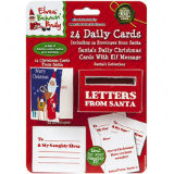 Christmas Cards From Santa With Letter Box
