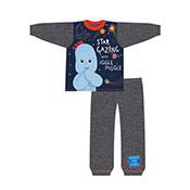 Official Boys Toddler Star Gazing With Iggle Piggle Pyjamas