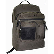 Official JCB Front Zip Compartment Backpack Khaki
