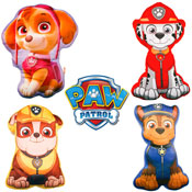 Kids Paw Patrol Novelty Character Cushions