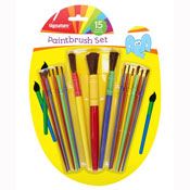 15 Piece Paintbrush Set