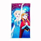 Disney Frozen Lights Beach Towel