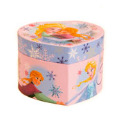 Childrens Frozen Jewellery Box with Mirror