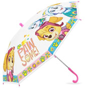 Official Childrens Girls Paw Patrol Pawsome Umbrella