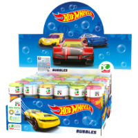 Official Hot Wheels Novelty Soap Bubbles