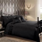 Caprice Black Luxury Duvet Set