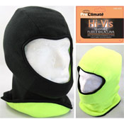 Hi Vis Reversible Fleece Balaclava