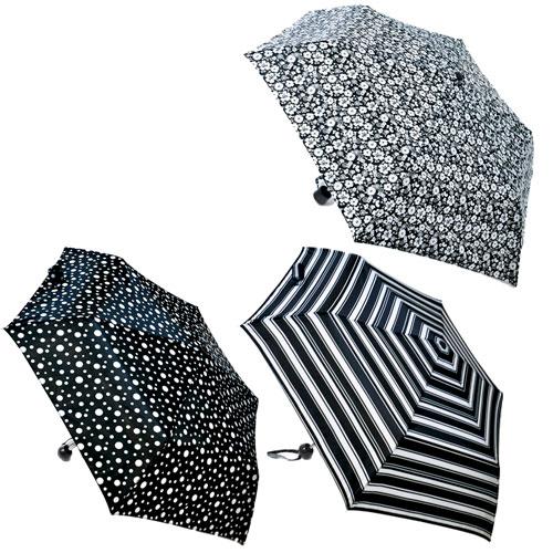 Black/White Design Assorted Supermini Umbrella