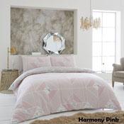 Harmony Blush Pink Luxury Duvet Set