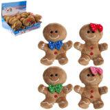 Mini Gingerbread Men Plush Toy