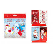 Handcrafted Christmas Money Wallets 4 Pack Assorted