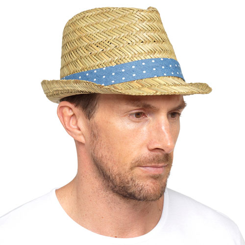 Mens Trilby Hat With Contrast Band