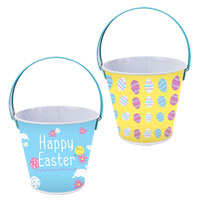 Metal Easter Treat Bucket