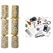 Gold Christmas Catering Crackers