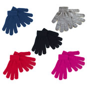 Ladies Thermal Magic Gloves Assorted