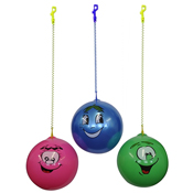 Scented Smiley Face Ball & Keychain