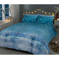 Christmas Duvet Set Starry Nights Ice