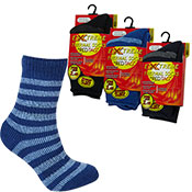 Boys Extreme Tog Thermal Socks Stripes