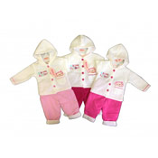Baby Girl 'Funfair' Jacket and Trousers Set