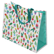 Cactus Design Shopping Bag
