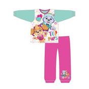 Official Girls Toddler Paw Patrol Top Pups Snuggle Fit Pyjama