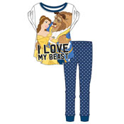 Ladies Beauty And The Beast Pyjama Set