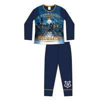 Girls Older Official Harry Potter Pyjamas Hogwarts