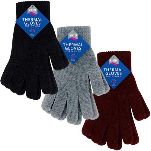 Ladies Cosy Thermal Gloves