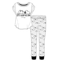 Ladies Official Snoopy Pyjamas