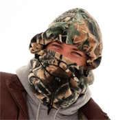 Mens Snoods Forest Camo Print