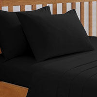 68 Pick Fitted Sheet Black
