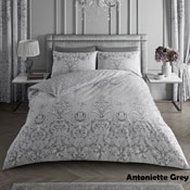Antoinette Grey Luxury Duvet Set
