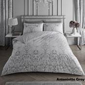 Antoinette Grey Luxury Duvet Set