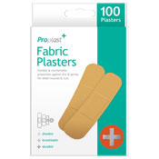 Fabric Plasters 100 Pack