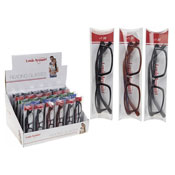 Mens Plastic Framed Reading Glasses