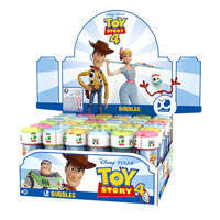 Official Toy Story 4 Novelty Soap Bubbles