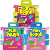 Fun Coloured Play Dough