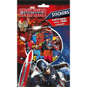 700 Captain America Civil War Stickers