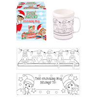 Elfin Around Colouring Mug